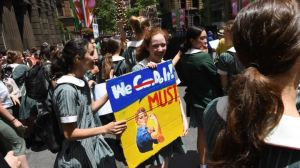 Kids rally pic